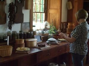 hancock shaker village kitchen 1
