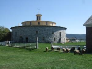 round barn hancock shaker village