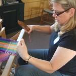 hancock shaker village weaving